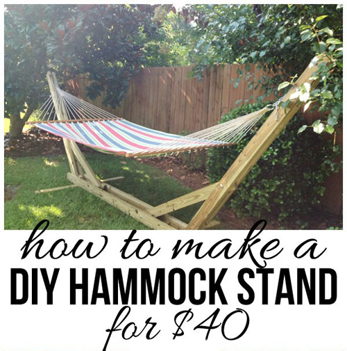 How To Build A Hammock Stand