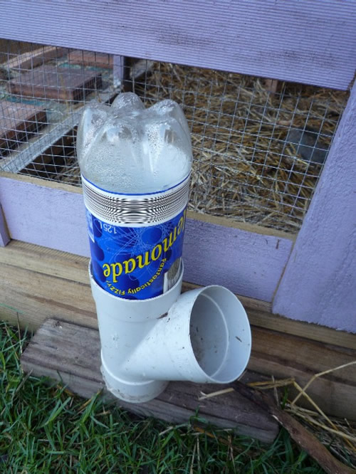 Diy Pvc Soda Bottle Chicken Waterer