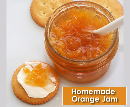 Homemade Orange Jam Recipe