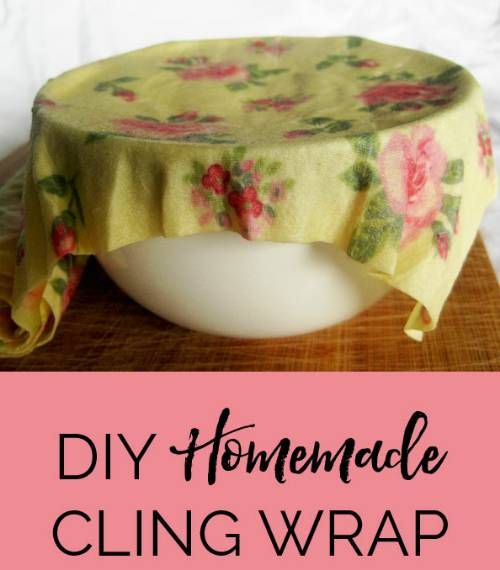 Homemade Cling Wrap