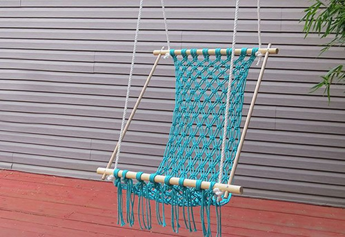 DIY Crocheted Hammock Plans