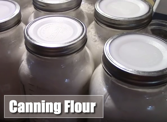 Canning Flour