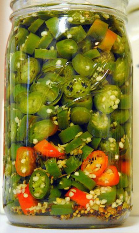 Canning Pickled Serrano Peppers