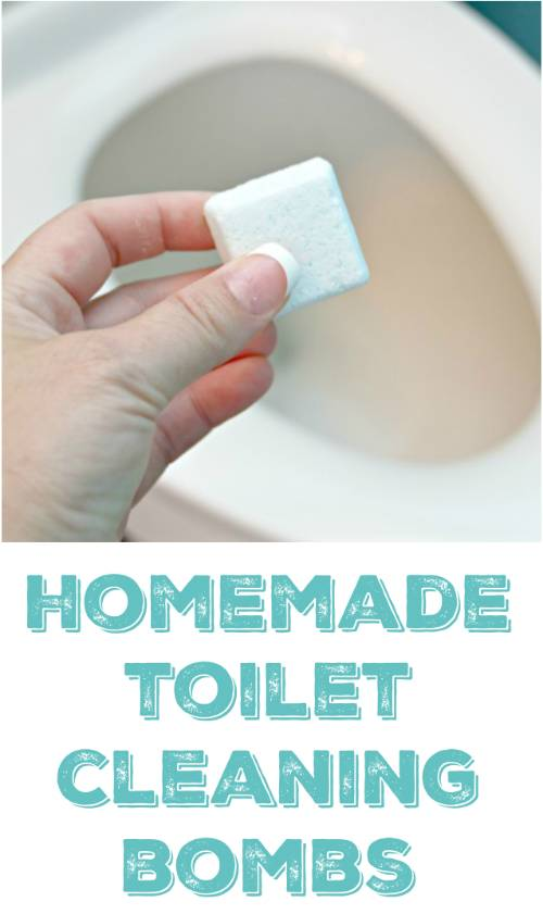 Homemade Toilet Cleaning Bombs Recipe