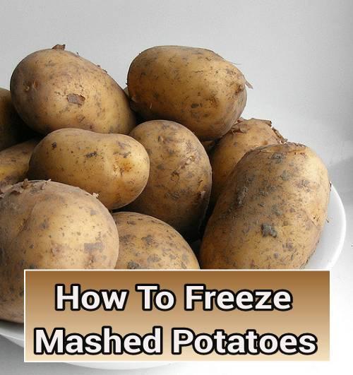 Frteezing Mashed Potatoes