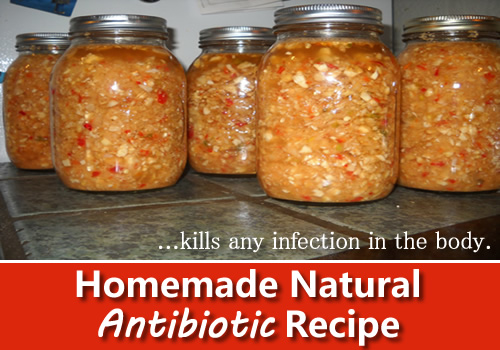 Homemade All Natural Antibiotic Recipe