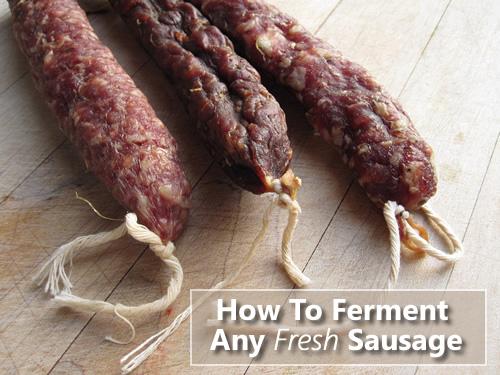 Homemade Fermented Sausage Recipe
