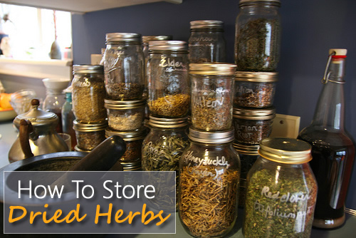 How To Store Dried Herbs & Spices