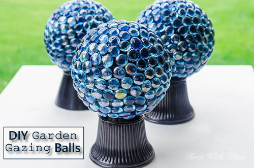 Homemade Gazing Balls