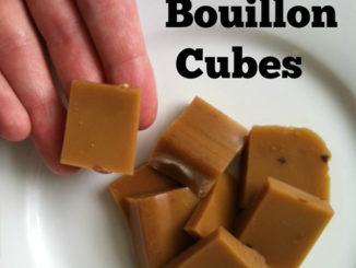Homemade Bouillon Cubes