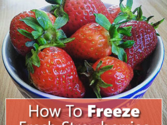 How To Freeze Fresh Strawberries