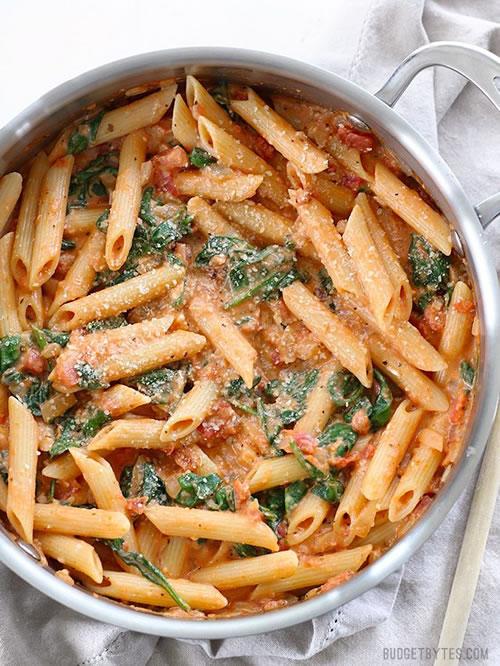 Creamy Tomato And Spinach Recipe