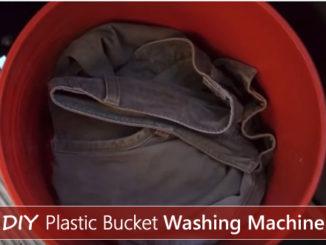 DIY Plastic Bucket Washing Machine
