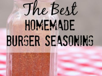 Homemade Burger Seasoning Recipe