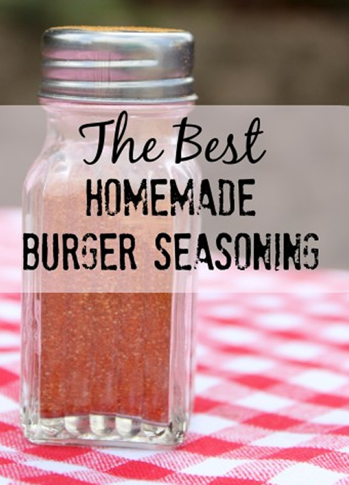 Homemade Burger Seasoning Recipe