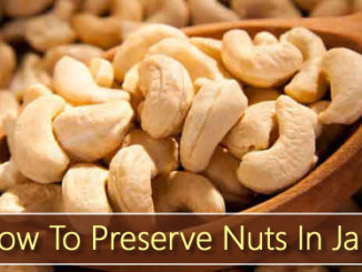 How To Preserve Nuts In Jars