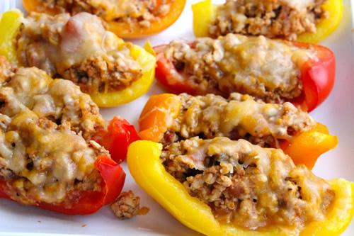 Bell Pepper Nacho Boats Recipe