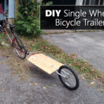 DIY Single Wheel Bicycle Trailer