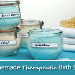 Homemade Therapeutic Bath Salts