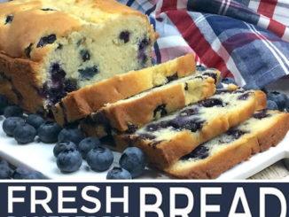 Fresh Blueberry Loaf Recipe