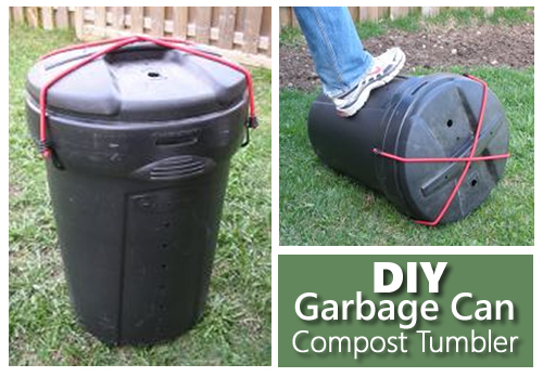Diy Garbage Can Compost Tumbler
