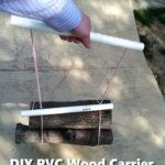 DIY PVC Wood Carrier