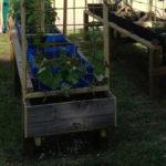 DIY Raised Garden Planter Stand