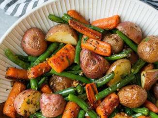 Garlic Herb Roasted Potatoes Recipe