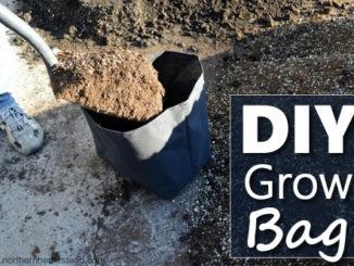 DIY Garden Grow Bags