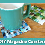 DIY Magazine Coasters