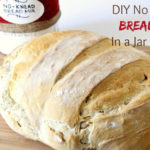 Homemade No Knead Bread Mix