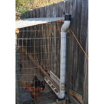 DIY PVC Long Arm Chicken Feeder