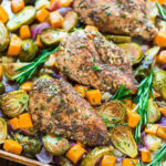 Sheet Pan Chicken With Sweet Potatoes Recipe