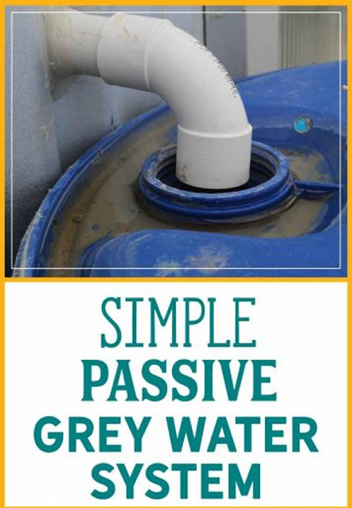 Diy Simple Grey Water System
